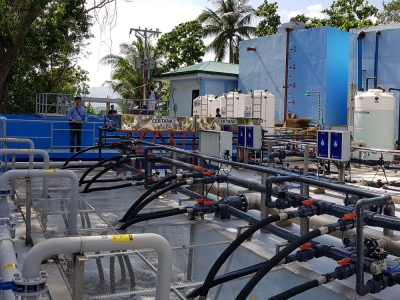 Water Ultrafiltration (UF) Treatment Plant, Pandan